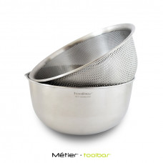 18cm Mixing Bowl and Colander
