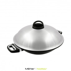 36cm The Woking Gourmet with side handle