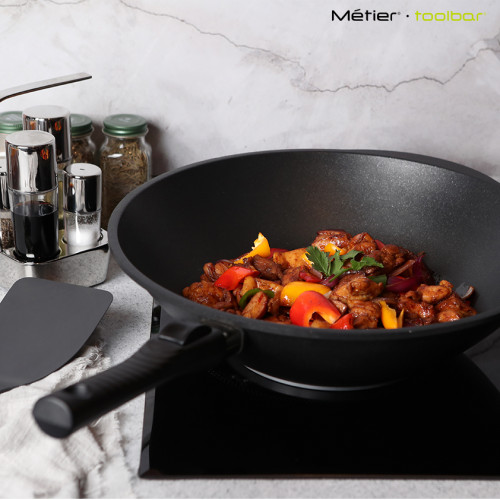 36cm The Woking Gourmet with detachable handle