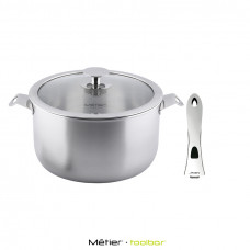 On-and-Off 22cm Casserole( including with the handle)