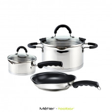 SPOUT Stainless Steel Cookware Set